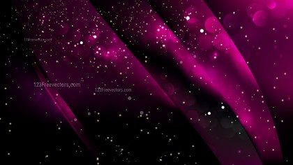 Abstract Cool Pink Bokeh Lights Background Design