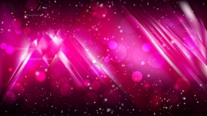 Abstract Cool Pink Blurry Lights Background Design
