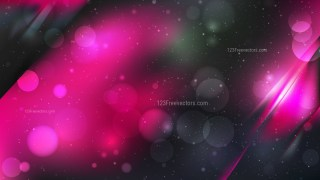 Abstract Cool Pink Bokeh Defocused Lights Background Design