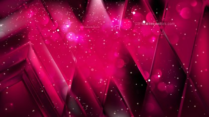 Abstract Cool Pink Blurred Bokeh Background