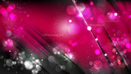 Abstract Cool Pink Bokeh Defocused Lights Background