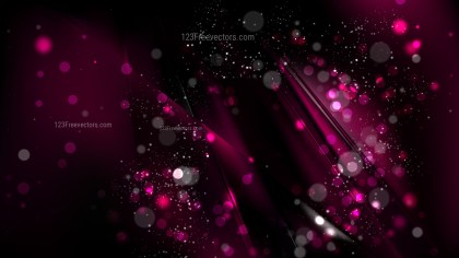 Abstract Cool Pink Bokeh Background