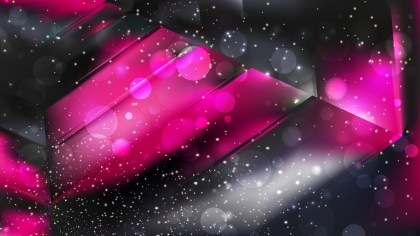 Abstract Cool Pink Blurry Lights Background