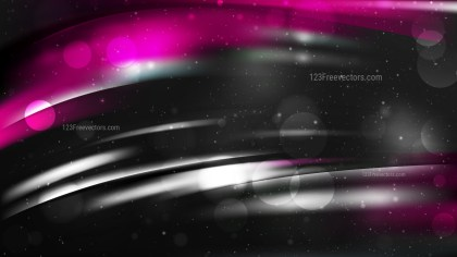Abstract Cool Pink Lights Background