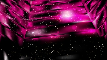 Abstract Cool Pink Lights Background Vector