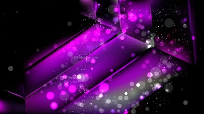 Abstract Cool Purple Lights Background Image
