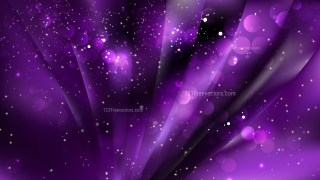 Abstract Cool Purple Defocused Lights Background Image