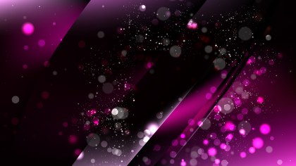 Abstract Cool Purple Bokeh Lights Background Image