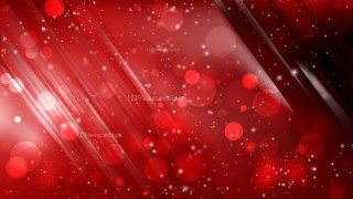 Abstract Cool Red Bokeh Lights Background Design