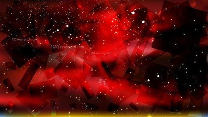 Abstract Cool Red Defocused Lights Background Design