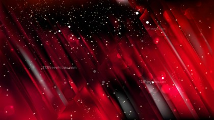 Abstract Cool Red Blurred Bokeh Background Design
