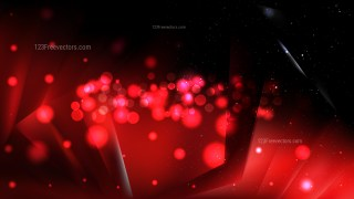 Abstract Cool Red Bokeh Defocused Lights Background Design