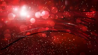 Abstract Cool Red Defocused Lights Background