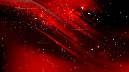 Abstract Cool Red Blurred Lights Background