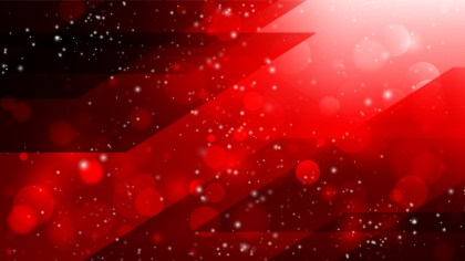 Abstract Cool Red Bokeh Defocused Lights Background