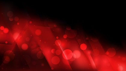 Abstract Cool Red Blurry Lights Background Vector