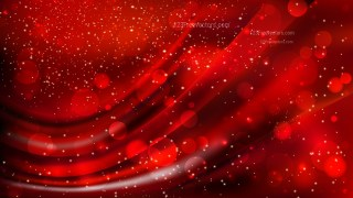 Abstract Cool Red Lights Background Vector