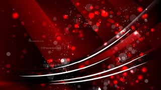 Abstract Cool Red Defocused Background Vector