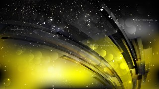 Abstract Cool Yellow Lights Background Image