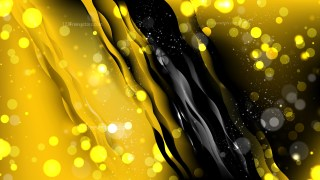 Abstract Cool Yellow Blur Lights Background Image