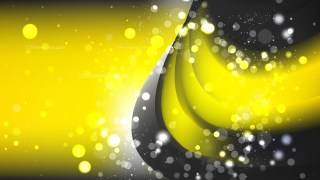 Abstract Cool Yellow Defocused Lights Background Image