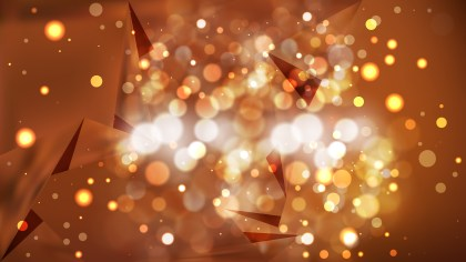 Abstract Copper Color Bokeh Defocused Lights Background Image