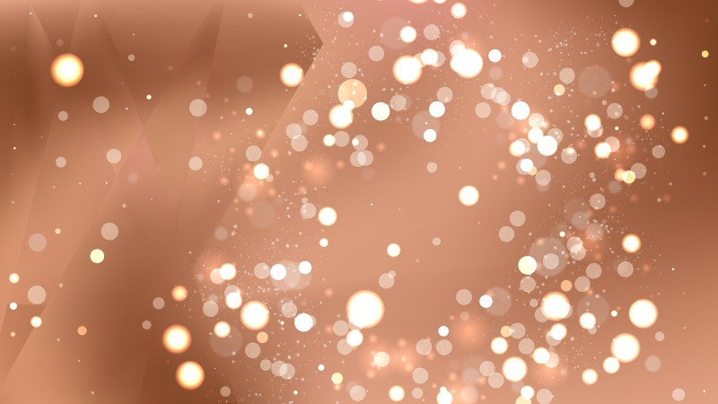 Abstract Copper Color Bokeh Background Design