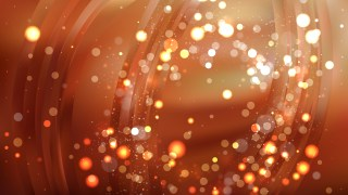 Abstract Copper Color Bokeh Lights Background Design