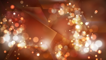 Abstract Copper Color Blurry Lights Background Design