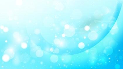 Abstract Cyan Defocused Background Design