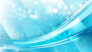 Abstract Cyan Defocused Lights Background Design