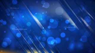 Abstract Dark Blue Blurry Lights Background Vector