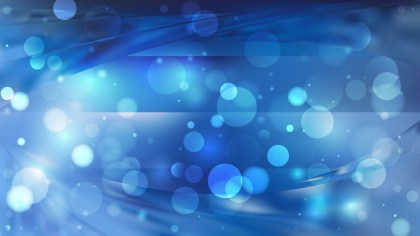 Abstract Dark Blue Lights Background Image