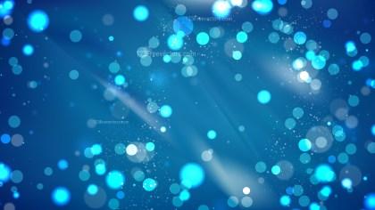 Abstract Dark Blue Defocused Background Design