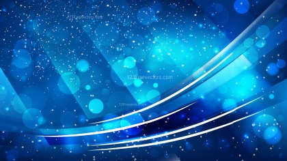 Abstract Dark Blue Defocused Background Design