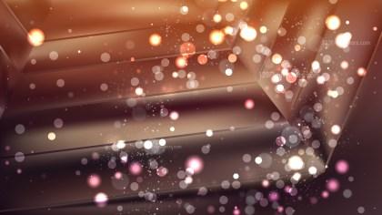 Abstract Dark Brown Blurred Bokeh Background