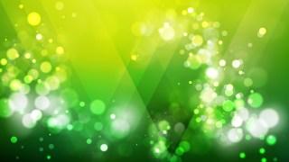 Abstract Dark Green Blurry Lights Background Vector