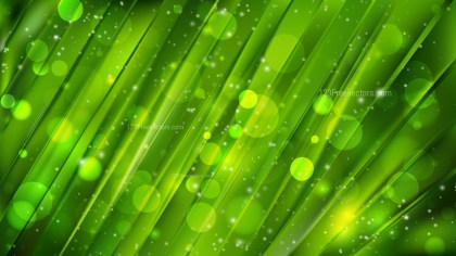 Abstract Dark Green Lights Background Vector