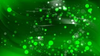 Abstract Dark Green Defocused Background Vector