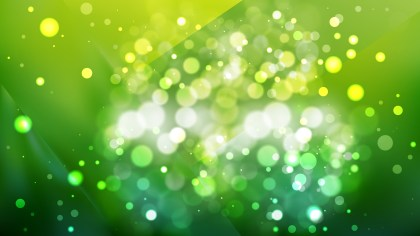Abstract Dark Green Lights Background Image