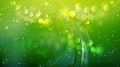 Abstract Dark Green Defocused Lights Background Image