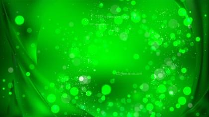 Abstract Dark Green Blur Lights Background Design