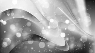 Abstract Dark Grey Bokeh Background Vector