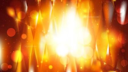 Abstract Dark Orange Bokeh Defocused Lights Background Image
