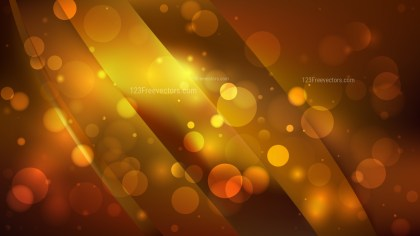 Abstract Dark Orange Defocused Lights Background Image