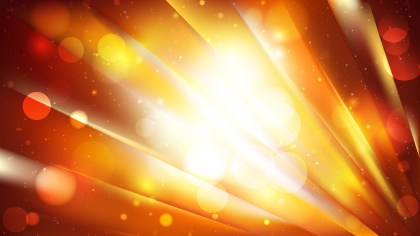 Abstract Dark Orange Bokeh Lights Background Design