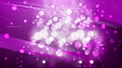Abstract Dark Purple Blurred Lights Background