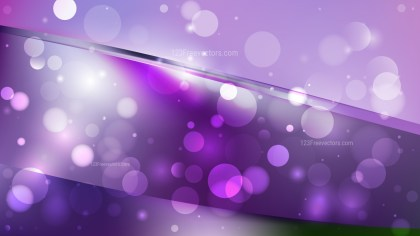 Abstract Dark Purple Lights Background