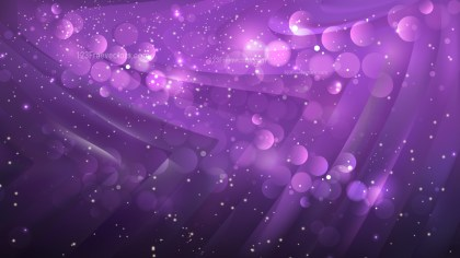 Abstract Dark Purple Blurred Lights Background Vector