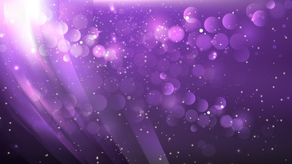 Abstract Dark Purple Blurred Bokeh Background Vector